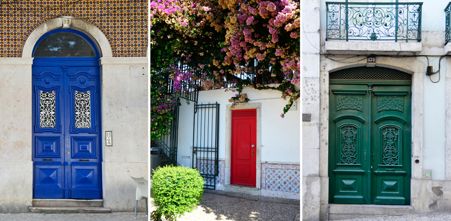 ths - lisbon - coloured doors