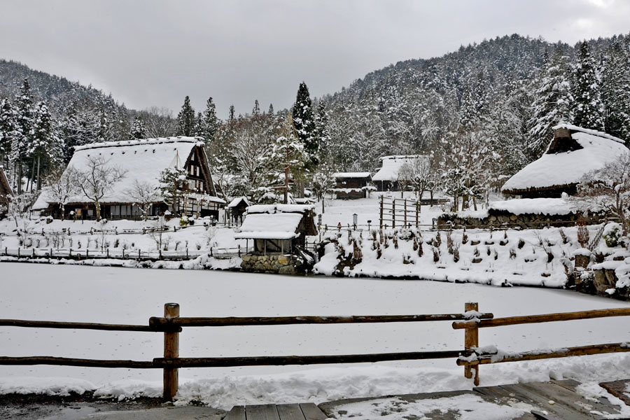 Japan – Takayama – A great place to stay in winter